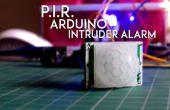 Alarma de intruso de P.I.R. Arduino de $ 3.5