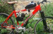 Bicicleta motorizada de 2 tiempos 80cc kit mis notas