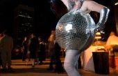 ¿Espejado de Disco Ball Halloween traje