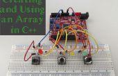 Crear y utilizar una matriz en C++