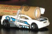 Aprende sobre aceleración con coches del cohete.