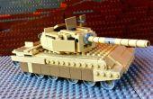 Hacer un tanque Abrams de LEGO
