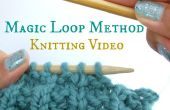 How to do the magic loop when knitting