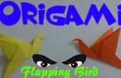 Aleteo de pájaro - fácil Tutorial de origami