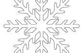 Cómo hacer un copo de nieve de papel Kirigami perfecto en 6 pasos fáciles