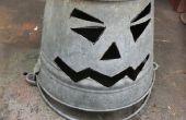 Linterna de Halloween cubo