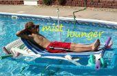 Tumbona de piscina con construido en atomizador