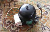 Cómo modificar un compresor de nevera en un compresor de aire silencioso