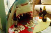 Mesa principal de los tiburones