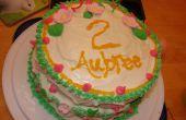 Mis hijas 2 º pastel de cumpleaños.