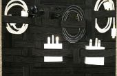 Organizador de bolso/Cable/tecnología DIY