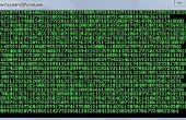 Matriz de pantalla completa lote