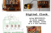 Reloj digital usando MSP430
