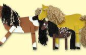 Cómo hacer un caballo de peg