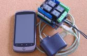 Android controla luces y poder, pfodDevice para Arduino