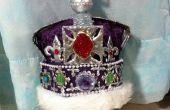 La corona de coronación de la reina DIY