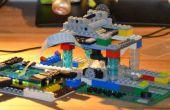Un microscopio basado en cámaras de frambuesa Pi utilizando piezas de LEGO