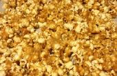 Palomitas de mantequilla de maní
