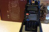 Baofeng FB-F9 V2 + jamón de Radio carga modificación de Stand
