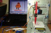 Robot de instructables dibujo por Mini CNC - Arduino - L293D escudo