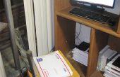 Asiento/silla cojín hecho de USPS prioridad correo rellenado tarifa plana sobres