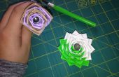 Pluma de flor de cinta de conducto