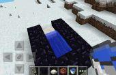 Cómo hacer un cañón de tnt en minecraft pe!