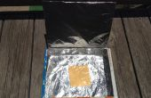 Horno solar de caja de Cereal