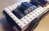 Cómo construir un motor de Lego V8 Supercharged