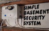 Sistema de seguridad simple sótano