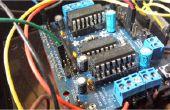 Duplicar fácilmente la potencia de salida de un tablero de controlador de Motor L293D