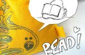 Camiseta Mini pufs - aprender a coser y hacer su propio atril de lectura Flexible