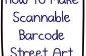 El último Nerdbait: Cómo hacer escaneable QR Code Bar Código Street Art