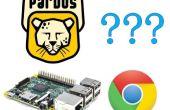 Google Chrome en PardusARM (frambuesa Pi 2)