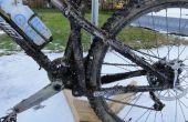 Portátil y montaña del invierno o Cyclocross bicicleta lavado punta