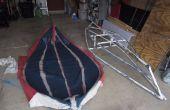 Pruebas y tribulaciones: construcción de un Kayak plegable de PVC