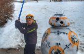 BB-8 muñeco de nieve, guerras de la estrella