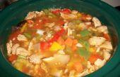 La sopa que ganó la guerra - pimentero sopa (vegetariano)