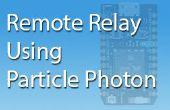 Relé remoto usando fotones partícula