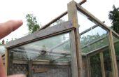 Diseño de su invernadero!  Lean-lejos es mejor que lean-to! Esto le sorprenderá!