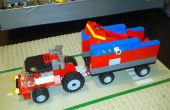Plataforma móvil de lanzador Rock aka MORLAP aka LEGO catapulta