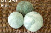 Fácil DIY fieltro secadora bolas