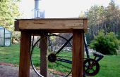 Proyecto: Pedal procesador de alimentos con licuadora (versión de la impulsión de correa)