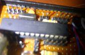 Construcción de sistema de seguridad láser con atmega8 (arduino)
