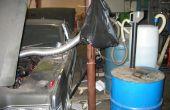Ejecutar su coche en hidrógeno de aluminio latas de refresco y lejía