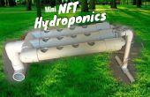 Mini sistema hidropónico NFT