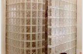 Cómo instalar una ducha de bloques de vidrio