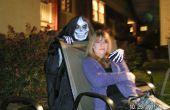 Hecho a mano icónico cráneo máscara de muerte disfraz para Halloween