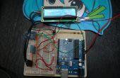 Arduino Monitor portátil de tiempo, altímetro, temperatura, humedad, con LCD con sólo 3 pines DHT11 y BMP85