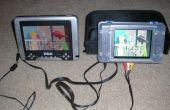 Añadir una tercera pantalla LCD a su reproductor portátil pantalla DVD
